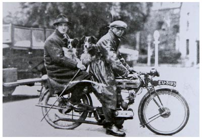 Mode of transport to trials in 1928